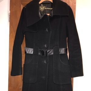 Mackage trench style wool coat size s/p